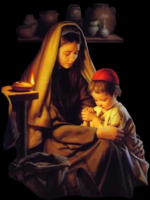 Manière d'Entretenir avec Dieu une conversation continuelle et familière (St. Alphonse de Liguori) MarybJesusPraying